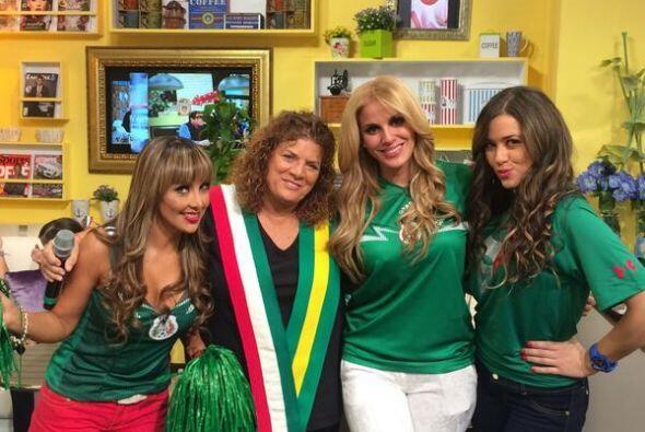 Malillany con Denisse de Kalafe. Todo sobre el Mundial de Brasil 2014.