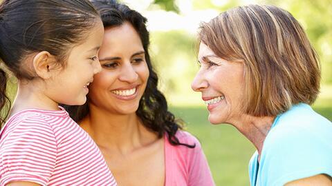 Una buena relación con los nietos alarga la vida