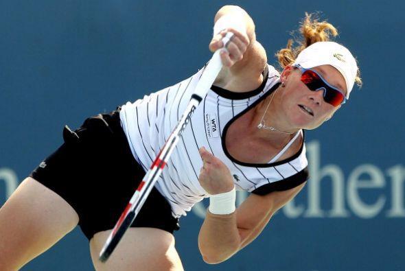 Samantha Stosur perdió la final del roland Garros en 2010 ante Francesca...