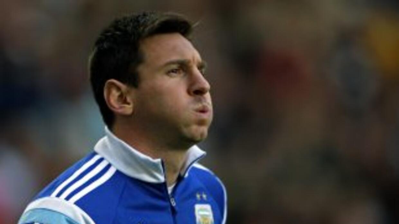 El futbolista argentinoLionel Messi.