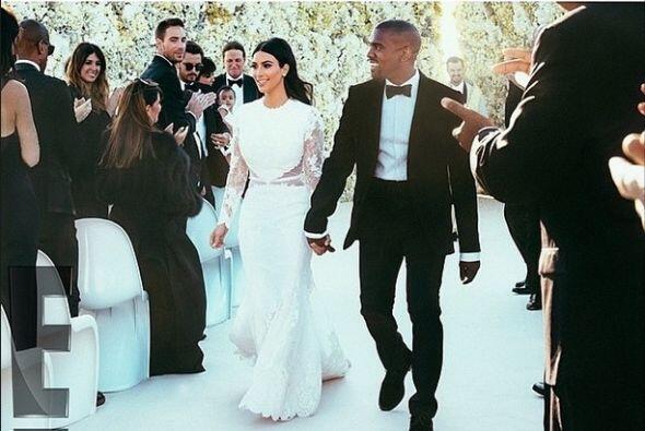 Uno de los momentos más felices de Kanye fue cuando se casó-