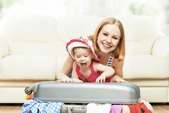 Viajes con niños. Los más pequeños no se rigen por la moda, así que con...