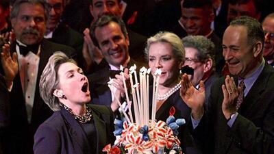 Feliz cumpleaños Hillary: las fotos en las que te hemos visto más feliz