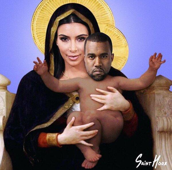 Memes Saint West