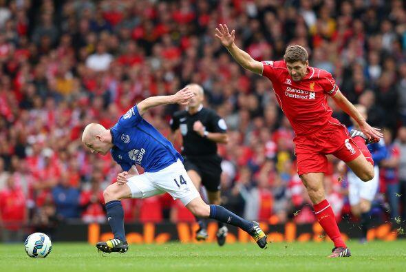La jornada comenzó con el Liverpool vs. Everton y con ella vimos como St...