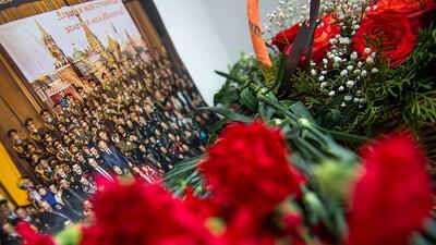 El Coro del Ejército Rojo que desapareció en el accidente aéreo que enlutó a Rusia