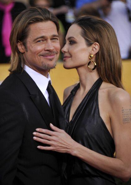 """Pitt y Jolie se conocieron durante la grabación de la cinta """"Mr. & Mrs...."""