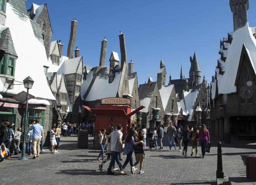 El mundo creado por J.K Rowling cobra vida en Disney World