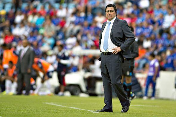 Luis Fernando Tena ha dejado mucho que desear con el Cruz Azul en 3 jorn...