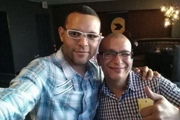 Los empleados de KQ105 y WKAQ580 celebran juntos el Mes de la Radio en R...