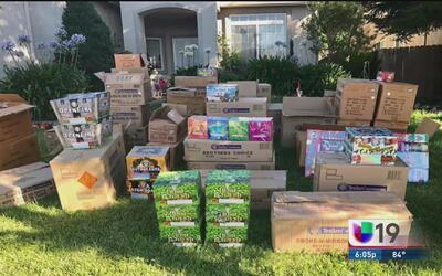 Confiscan fuegos artificiales en Stockton