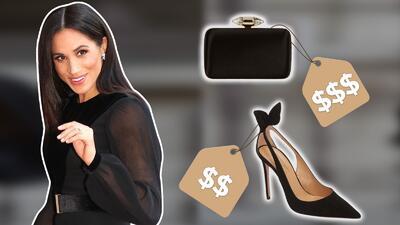 Meghan Markle sale sola por primera vez con un poderoso look de 18,000 dólares