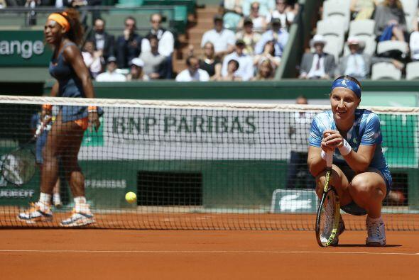 Kuznetsova aprovechó el mal momento de Serena para adjudicarse el set 6-...