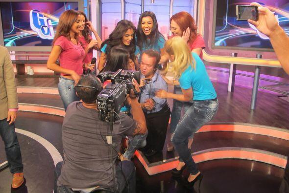 En El Gordo y La Flaca dimos las bienvenida a las chicas de Nuestra Bell...