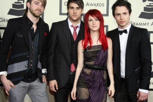 La agrupación Paramore logró entrar en los 20 mejores del año con su can...