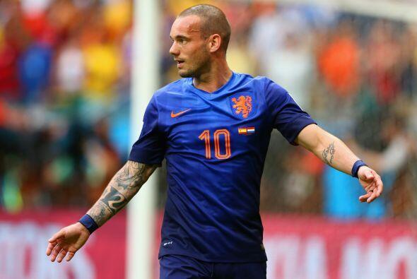 Entre sus múltiples tatuajes, el holandés luce uno en su brazo izquierdo...