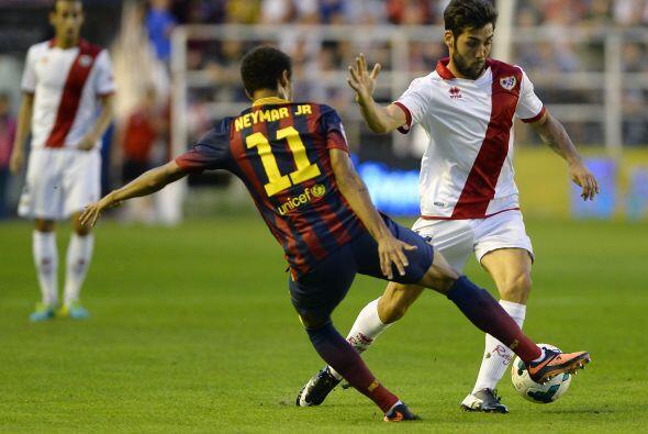 No se amilanó el Rayo y siguió buscando el gol.