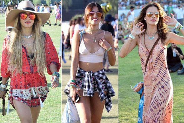 Los famosos disfrutaron de mucha música y moda en uno de los pocos event...
