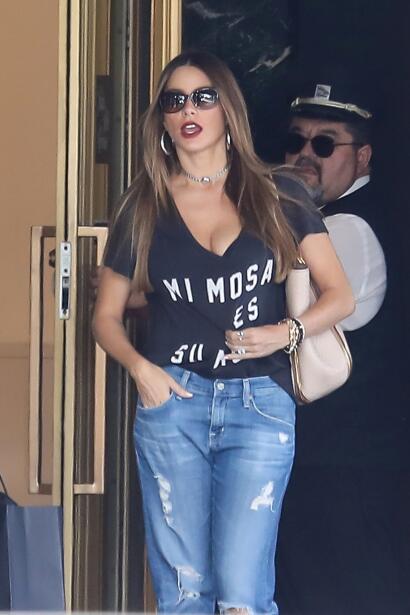Sofia Vergara de compras por Beverly Hills