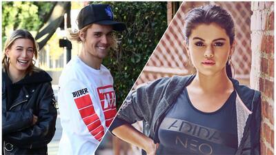 Justin Bieber supera la tristeza por Selena, mientras que su esposa miente por él