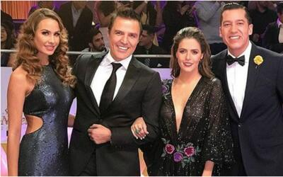 Alfombra roja de los premios TVyNovelas 2018.