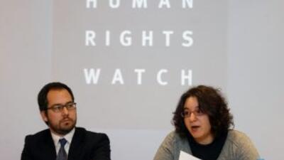 De acuerdo al informe, los esfuerzos de las autoridades mexicanas para c...