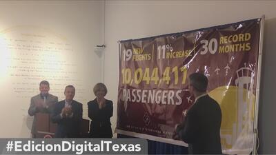 Aeropuerto de San Antonio registró más de 10 millones de pasajeros en 2018