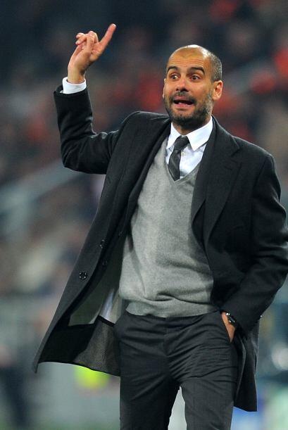 Guardiola sabía que estaba resuelta la situación y movió sus piezas.