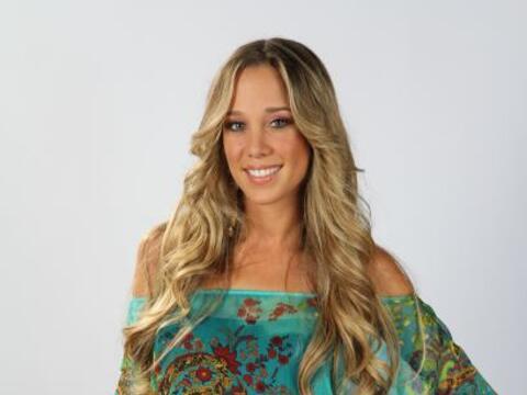 Andrea Martínez es la venezolana de la competencia. Sus compa&nti...