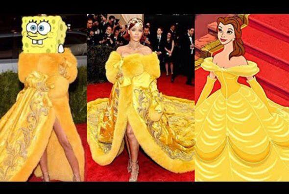 ¿Bob Esponja y Bella le copiaron a Rihanna?