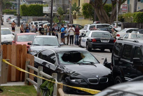 De acuerdo a las autoridades policiales, los disparos se iniciaron alred...