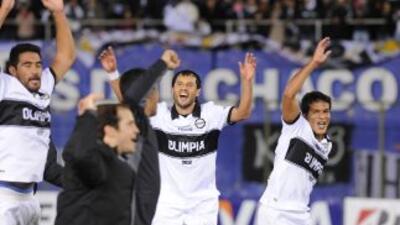 Olimpia de Paraguay ya es finalista de la Copa Libertadores 2013.
