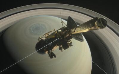 Este viernes la sonda Cassini se despide del universo en una zambullida...