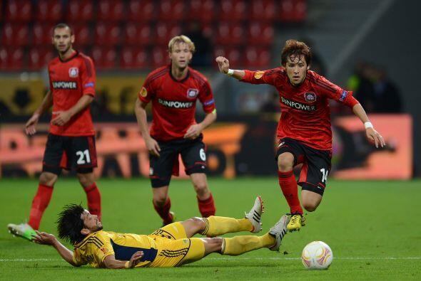 Por último, el Bayer Leverkusen y el Metalist Kharkiv tampoco hic...