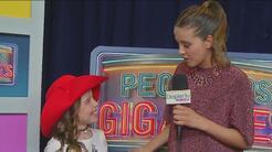 Paulina Goto quedó encantada con el look de Sammy Blue en Pequeños Gigan...