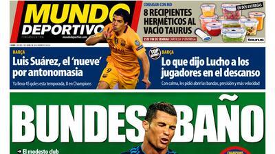 La prensa en España reventó al Madrid