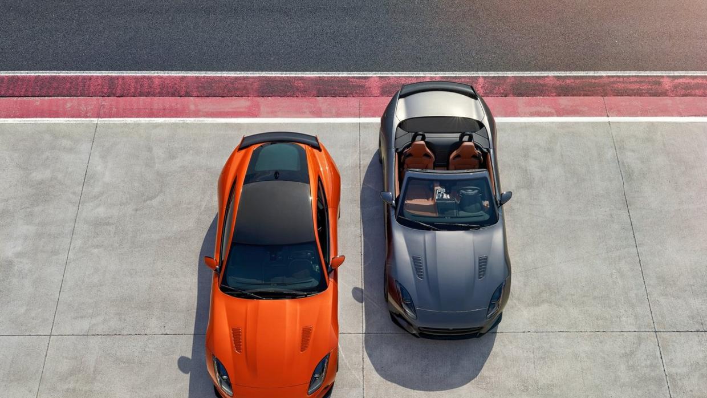 Los nuevos Jaguar F-Type SVR y F-Type SVR roadster
