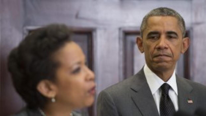 Loretta Lynch y Barack Obama.