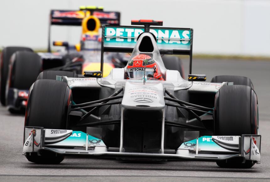 Hace 5 años, Michael Schumacher anunció su retiro definitivo de la Fórmu...