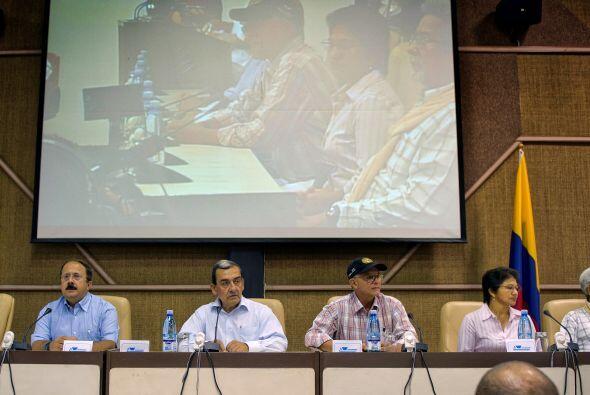 Noviembre 19- Arrancan en La Habana las negociaciones entre el Gobierno...