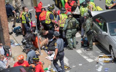 Las autoridades atienden a las víctimas del atropellamiento en Ch...