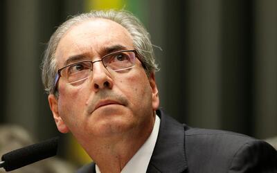 Eduardo Cunha fue impulsor del impeachment contra Dilma Rousseff.