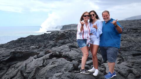 A Raúl y a su familia casi les da un patatús en Hawái por querer ver un...