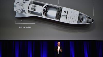 Elon Dusk habla de sus planes para colonizar Marte y viajar en cohete en...