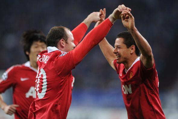 La dupla Rooney-Chicharito era imparable en la Liga inglesa y el 'Man-U'...