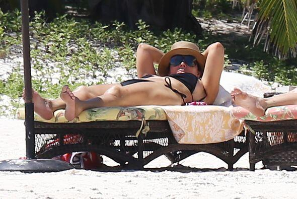 Melanie, Dakota y Kris Jenner