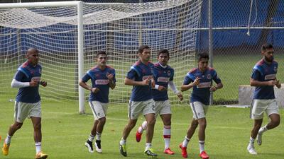 Chivas entrenamiento