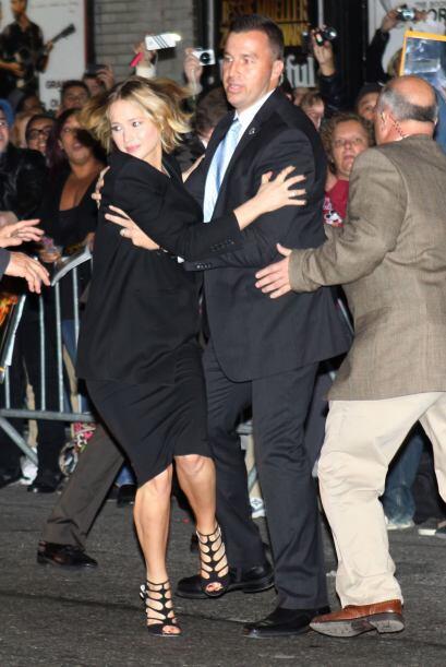 Jen sintió el verdadero cariño de los neoyorkinos.
