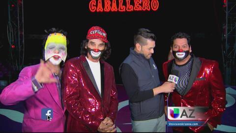 El show de Cepillín desde el circo de los Hermanos Caballero en Phoenix