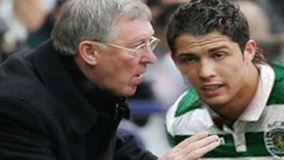 Así convenció Cristiano al United para que lo ficharan